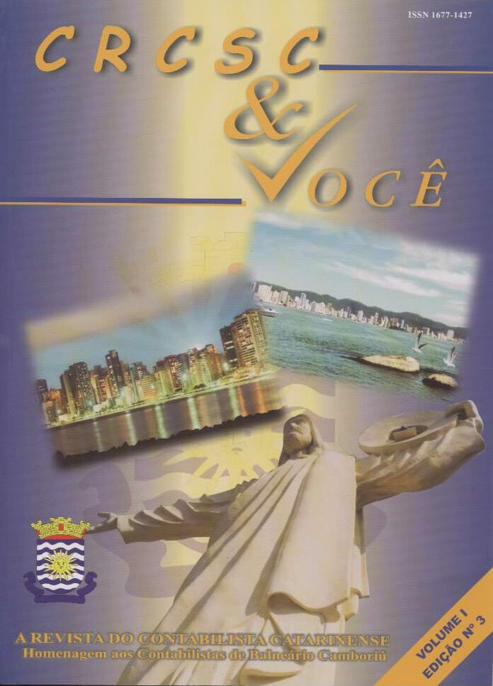 Visualizar v. 1 n. 3 (2002): Agosto-Novembro
