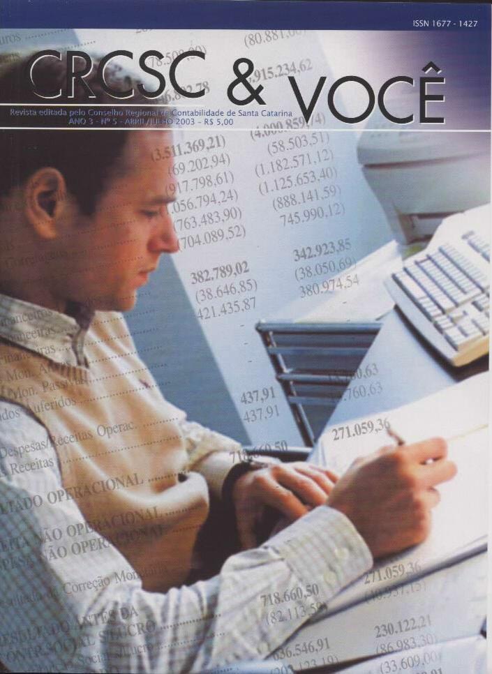 Visualizar v. 3 n. 5 (2003): Abril-Julho