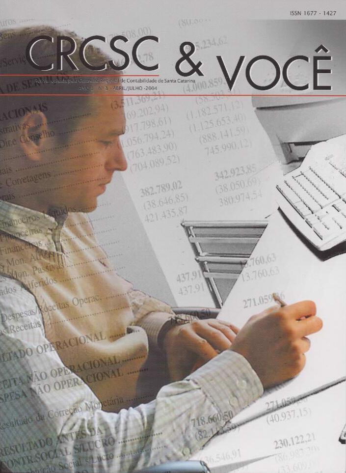 Visualizar v. 3 n. 8 (2004): Abril-Julho