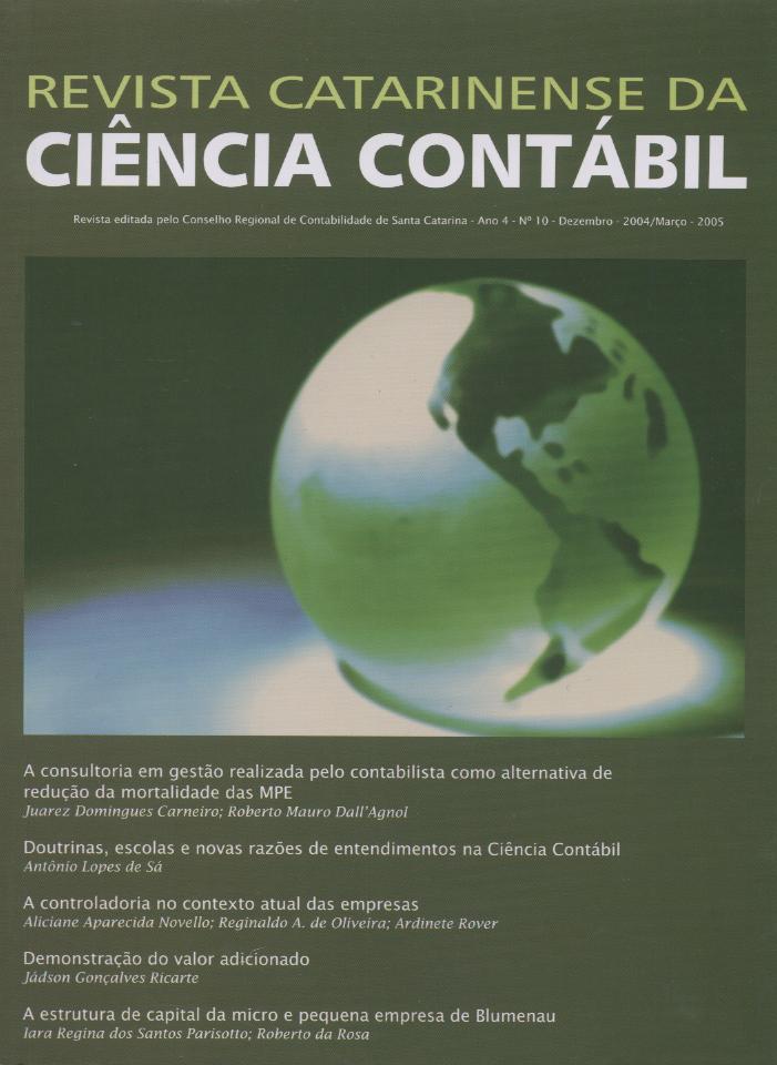 Visualizar v. 4 n. 10 (2005): Dezembro-Março
