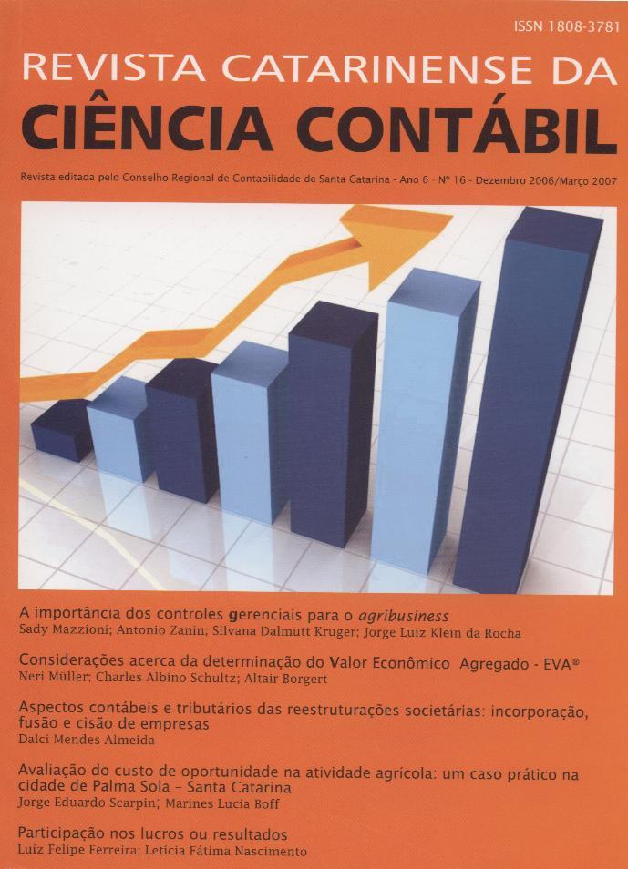 Visualizar v. 6 n. 16 (2007): Dezembro-Março