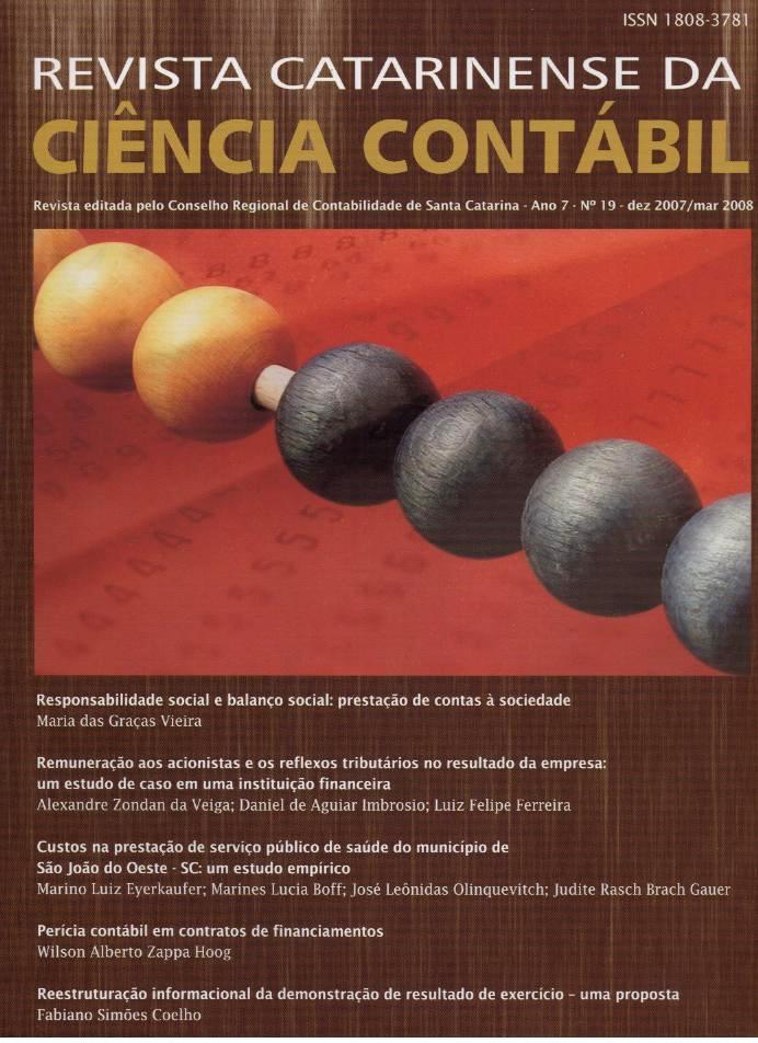Visualizar v. 7 n. 19 (2008): Dezembro-Março