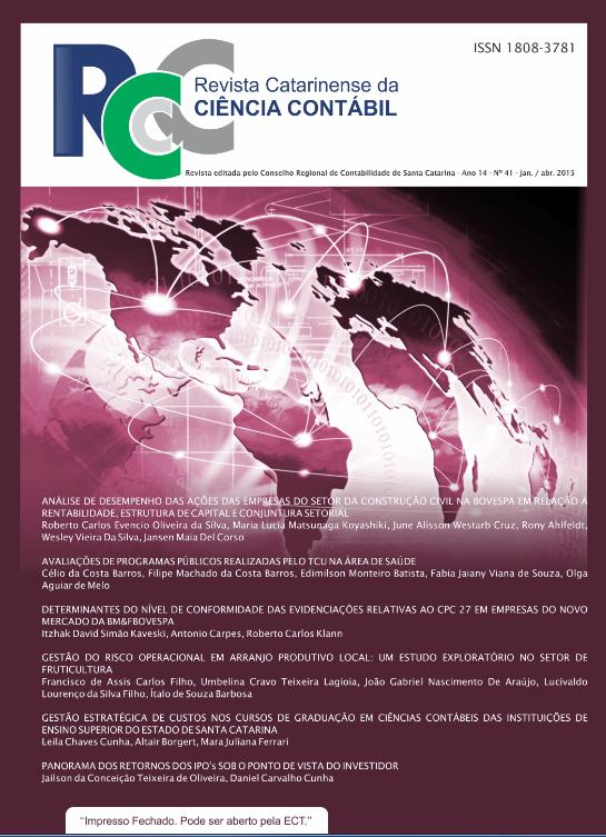 Visualizar v. 14 n. 41 (2015): Janeiro-Abril