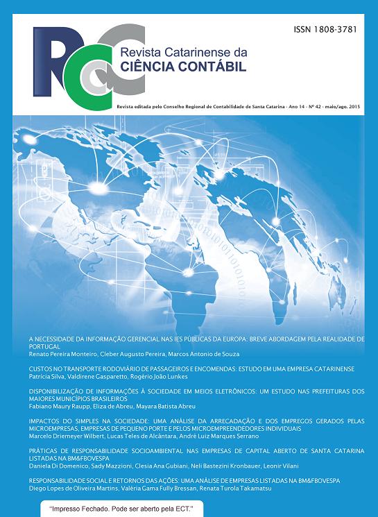 Visualizar v. 14 n. 42 (2015): Maio-Agosto